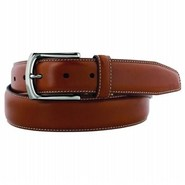 Men's Topstitched Accessories (Saddle Tan)- 42.0 O