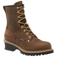 8  WP Plain Toe LoggerST Boots (Copper Crzyhrse) -