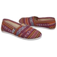 Anika Shoes (Flat Maroon/Violet) - Women's Shoes -
