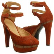 Amelie Shoes (Red Suede) - Women's Shoes - 7.0 M