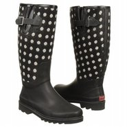 Dotty Boots (Black) - Women's Rain Boots- 10.0 M