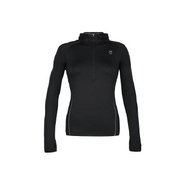Women&#39;s Half Zip Hoody Accessories (Black/Highrise
