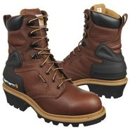 8  Logger Boots (Bison Brown) - Men's Boots - 10.5