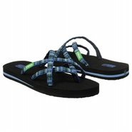 Olowahu 2 Pack Sandals (Black/Sorbet Plaid B) - Wo
