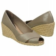 Cecilia Sandals (Grey Metallic Linen) - Women's Sa