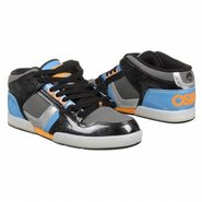 NYC 83 Mid Shoes (Black/Chrome/Blue) - Men's Shoes