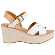 Ava Sandals (White Leather) - Women's Sandals - 10