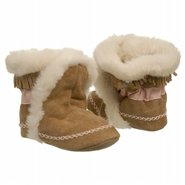 Cozy Ankle Bootie Inf Shoes (Fab Folk Camel) - Kid