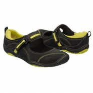 Freeform Mary Jane Shoes (Black/Yellow) - Women's