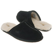 SCUFF Slippers (Black Suede) - Men's UGG Slippers-