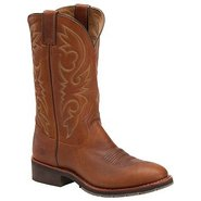 12  Work Western ST2337 Boots (Whiskey) - Men's Bo