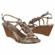 Ginelle Sandals (Black/White Snake) - Women's Sand