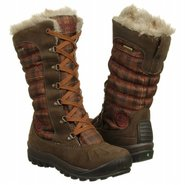 Mount Holly Faux Fur Boots (Dk Brown/Brown Plaid) 
