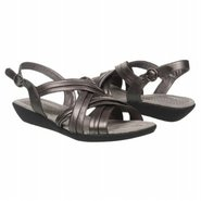 Chrysta Sandals (Pewter Leather) - Women's Sandals