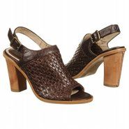 Sofia Woven Sling Sandals (Dark Brown Leather) - W