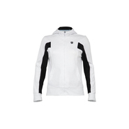 Women&#39;s Inset FZ Hoody Accessories (White/Black)- 