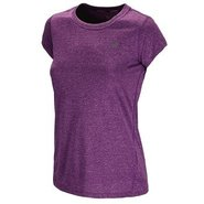 Women's Heathered Short Sleeve Accessories (Purple