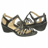 Sculptured Sign Sandals (Black) - Women's Sandals