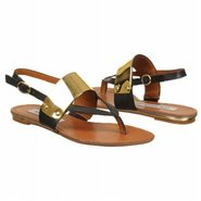 Cufff Sandals (Black Leather) - Women&#39;s Sandals - 