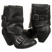 Wang Boots (Black Strike Pu) - Women's Boots - 6.5