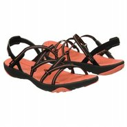 Surf Hydro Terra Vegan Sandals (Black/Coral) - Wom