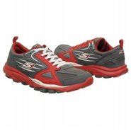Go Train Shoes (Charcoal/Red) - Men's Shoes - 6.5
