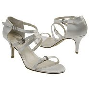 Locket Shoes (Ivory Satin) - Women's Wedding Shoes