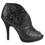 Essence Boots (Black Glitter) - Women's Boots - 8.