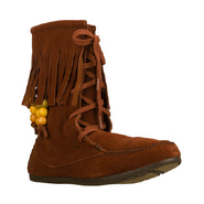 Love Letters-Half Moon Boots (Rust) - Women's Boot