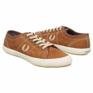 Vintage Tennis Leather Shoes (Dark Tan/Parchment)