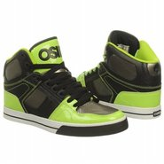 NYC 83 VLC Shoes (Black/Gun/Lime) - Men's Shoes -