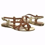 Alabama Sandals (Almond/Gold) - Sandals - 7.0 M