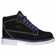 Brigade Fleece Boots (Black/Purple/White) - Women'