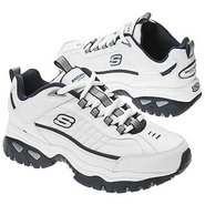 Afterburn Shoes (White/Navy) - Men's Shoes - 7.0 M