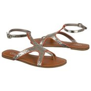 Fancy Sandals (Red Glitter) - Women's Sandals - 9.