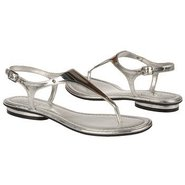 Bali Sandals (Silver Metallic) - Women's Sandals -