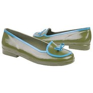 Drizzle Shoes (Green W/Blue) - Women&#39;s Shoes - 5.0