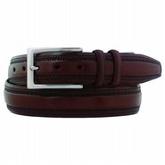 Men's Double-Pinked Accessories (Chestnut)- 40.0 O