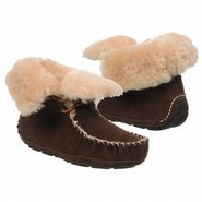 Sheepskin Moxie Boot Shoes (Dark Chocolate) - Wome