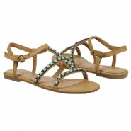 Lori Sandals (Camel Leather) - Women&#39;s Sandals - 5