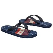 BB Flip Flop Stars Sandals (Navy/White) - Kids' Sa