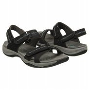 Swift Hydro Sandals (Black Suede) - Women's Sandal