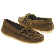 Kilty Suede Moc Shoes (Dusty Brown) - Women's Shoe