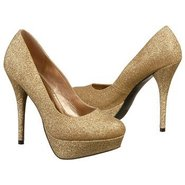 Glitter Pump Shoes (Nude) - Women&#39;s Shoes - 7.5 M