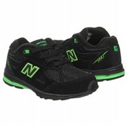 The 990V3 Toddler Shoes (Black/Green) - Kids' Shoe