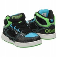Crooklyn Shoes (Black/Lime/Cyan) - Kids' Shoes - 8