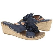 Bloom Sandals (Blue Tucker Fabric) - Women's Sanda