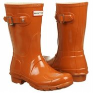 Original Short Gloss Boots (Burnt Orange) - Women'