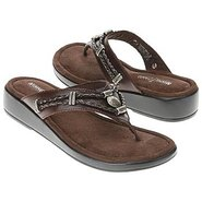 Silverthorne Thong Sandals (Brown) - Women's Sanda