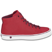 Clean Laguna High Top Shoes (Fiery Red/Tawny Port)